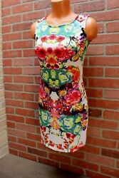 Clearance Floral Body con Dress Rose Dress Flower Tank dress Fits Small to M $7.50