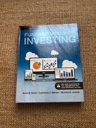 Fundamentals of Investing US HARDCOVER 13E; shrink wrapped; Textbook only $199.95