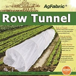 Hoop House Kit Mini Greenhouse Grow Tunnel Floating Row Cover with Hoops 24ft