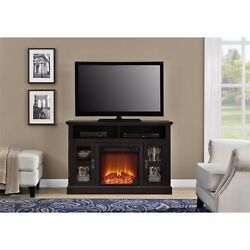 Media Electric Fireplace Flat Screen TV Console Stand Entertainment Unit 50