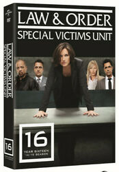 Law & And Order SVU Special Victims Unit Season Sixteenth Sixteen 16 16th