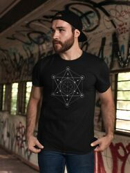 Cool Star Sacred Geometry Men#x27;s Tee Image by Shutterstock $12.99