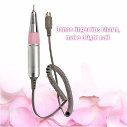 Nail Drill Handle Handpiece Shank Grinder Manicure Machine Replacement Pen Pink