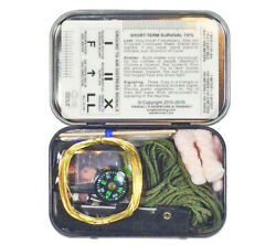 Mini Survival Kit in Tin Esee Knives Sere Tools in Pocket sized Container $32.49