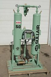 SULLAIR MODEL SD-100 100 CFM TWIN-TOWER COMPRESSED AIR DRYER