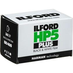 Ilford HP-5 Plus Black and White Film ISO 400 35mm 36 Exposures - 3 Pack