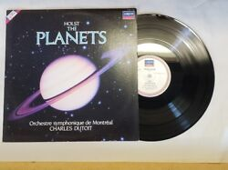 Holst the Planets  lp with Montreal symphony orchestra -london r 115 448