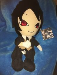 Black Butler Sebastian UFO large anime plush with tags