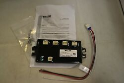 Whelen Universal LED Hide-A-Way 4 Outlet Lamp Driver w 4 lights LAW4RRRR