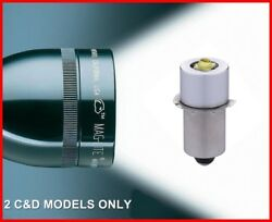 Maglite LED Upgrade Bulb Conversion for 2D 2C Cell Torch Flashlight Replacement $13.74