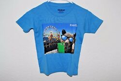 New Gildan #Selfie Blue Novelty Kids T Shirt $9.99