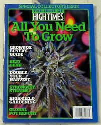 HIGH TIMES Best Of 2014 ALL YOU NEED TO GROW Buyers Guide SPECIAL EDITION Issue