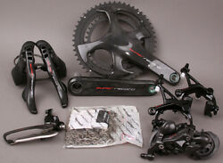 2018-19 Campagnolo Super Record 12 Speed Group Groupset 6 Pc 172.5 3450 Crank $2,175.00