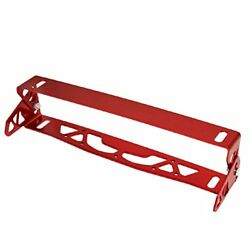 Jdm Adjustable License Plate Holder Bracket Relocator Red For 350Z Z33 Z34 370Z