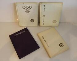 Set of 4x Vintage The Mirror Yearbooks Barnard School for Girls 1965 1967 1968