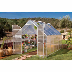 Poly-Tex Essence Greenhouse - 8ft. x 12ft. Silver #HG5812