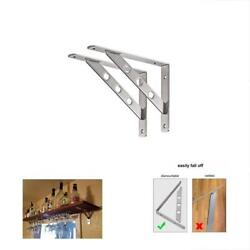 L Brackets Bracket Heavy Duty Stainless Steel Solid Shelf Support Corner Brace
