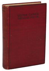 Sister Carrie ~ THEODORE DREISER ~ First Edition ~ 1900 1st Printing ~ Doubleday