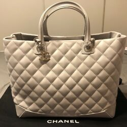 New Chanel Light Grey Shopper