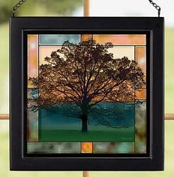 Twilight Tree Stained Glass Art by Judy Syring $24.95