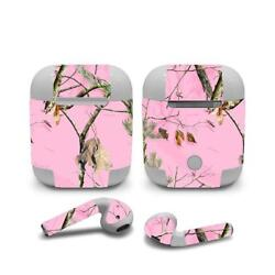 Skin Decal Protective decal Wraps for Apple Airpods Airpod Customize Pink Camo