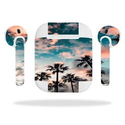Skin Decal Protective Cover Wraps for Apple AirPods AirPod sticker Palm tree 698