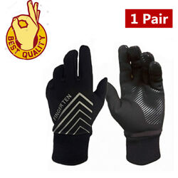 Winter Gloves Men Thinsulate Warm Fleece Lined Grip Motorcycle Running Driving $7.99