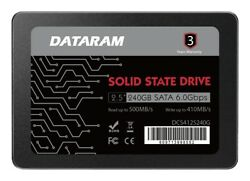 DATARAM 240GB 2.5quot; SSD DRIVE FOR ASUS Z270 WS $45.00