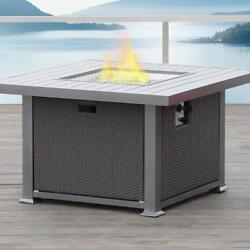 Fire Propane Natural Gas Conversion Kit Aluminum Square Grey 41.6 In X In. 24.6