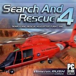 SEARCH and RESCUE 4 Helicopter Flight Simulation PC Game Brand New Sealed $5.90
