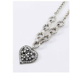 BRIGHTON BEACH FILIGREE HEART NECKLACE #1