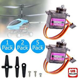 MG90S 9g Moto Servo Micro Metal Gear for Boat Car Plane RC Helicopter Arduino US $4.97