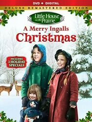 Little house On The Prairie A Merry Ingalls Christmas DVD New Free shipping $10.98
