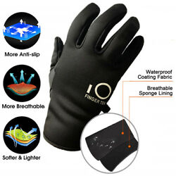 Winter Work Gloves Full Finger Warm Wind Water Resistant Anti Slip 3M Thinsulate $7.99