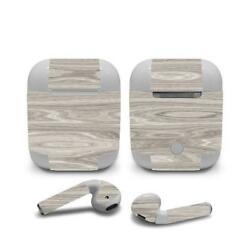 Skin Decal Protective decal Wraps for Apple Airpods Airpod Customize Wood