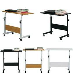 Adjustable PC Laptop Notebook Rolling Table Desk Stand Overbed Table $25.99