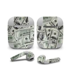 Skin Decal Protective decal Wraps for Apple Airpods Airpod Customize Money  6565