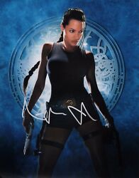 ~~ ANGELINA JOLIE Authentic Hand-Signed