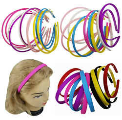12 PCS Color Assorted Headband for Women Girls Hairbands 0.2quot; 0.3quot; 0.4quot; $9.99