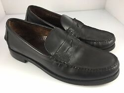 Sebago Men's Classic Handsewn Penny Loafer Leather Sole size 10.5 D
