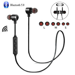 Wireless Bluetooth 5.0 Headphones Earbuds Earphones Sports HD Mic Samsung iPhone