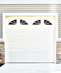 Garage Door Vinyl Decals Sherwood Style Faux Windows Vinyl Only #D1