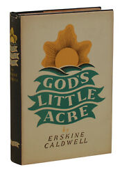 God's Little Acre ~ ERSKINE CALDWELL ~ First Edition 1st Printing 1933 ~ FINE