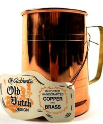 Copper Mountian Old Dutch Copper Beer Stein 16 oz Copper Kick Moscow Mule