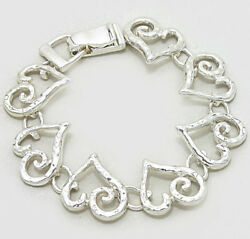 BRIGHTON BEACH Magnetic Heart Swirl Bracelet