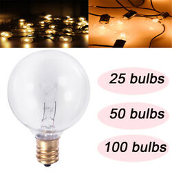 100FT 50FT 25FT G40 LED String Lights Indoor Outdoor Patio decoration Light Bulb