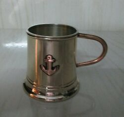 Antique Brass And Copper Metalware - Handmade Mug Beer Mug