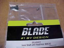 BLADE HELICOPTER PART EFLH2412 = INNER SHAFT WITH HEAD HUB : BMCX2 NEW $5.00
