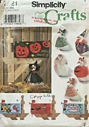 Simplicity Lawn Geese Clothing and Mailbox Covers Pattern 7521 UNCUT $39.99