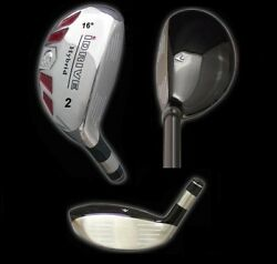 IDRIVE Hybrid Irons Golf Clubs (CHOOSE) 2 3 4 5 6 7 8 9 PW SW LW - FREE USA SHIP $49.95